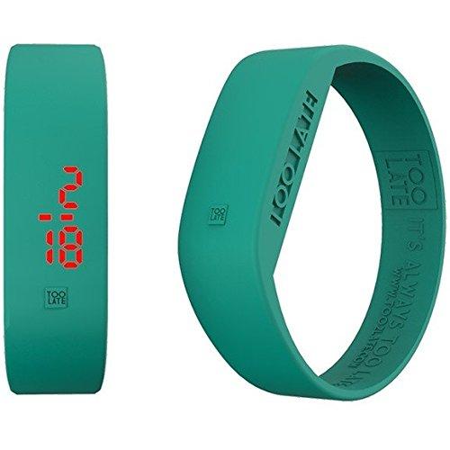 Armbanduhr Digital Unisex Too Late Groesse M Trendy Cod 8052145223310