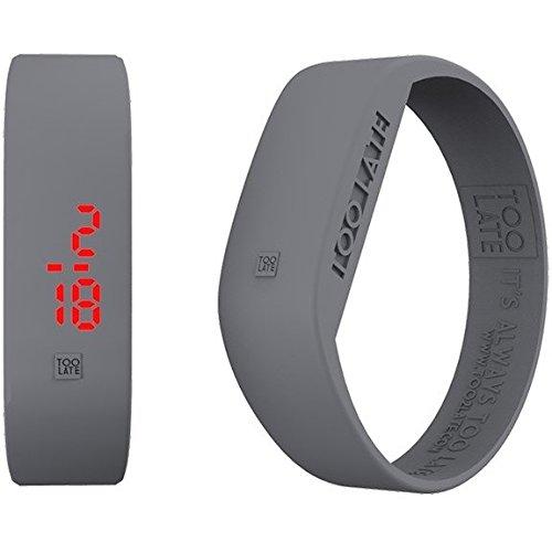 Armbanduhr Digital Unisex Too Late Groesse M Trendy Cod 8052145223334