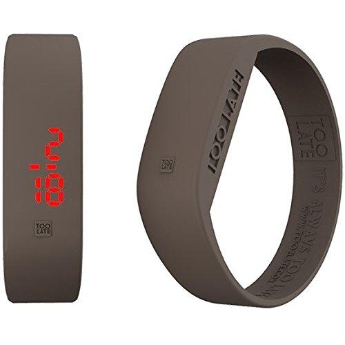 Armbanduhr Digital Unisex Too Late Groesse M Trendy Cod 8052145223341