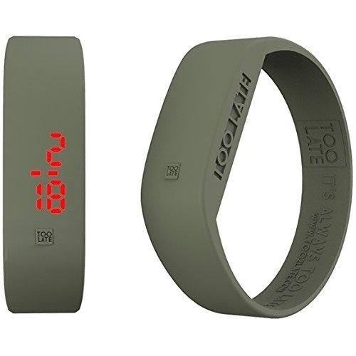 Armbanduhr Digital Unisex Too Late Groesse M Trendy Cod 8052145223365
