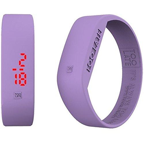Armbanduhr Digital Unisex Too Late Groesse M Trendy Cod 8052145223389