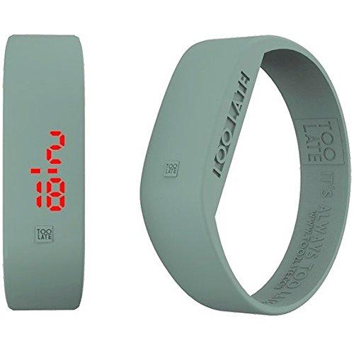 Armbanduhr Digital Unisex Too Late Groesse M Trendy Cod 8052145223402