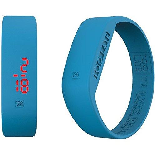 Armbanduhr Digital Unisex Too Late Groesse M Trendy Cod 8052145223419