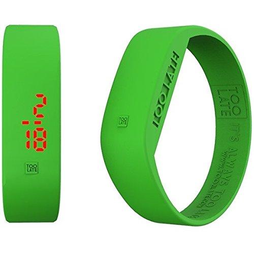 Armbanduhr Digital Unisex Too Late Groesse M Trendy Cod 8052145223426