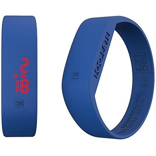 Armbanduhr Digital Unisex Too Late Groesse L Trendy Cod 8052145223518