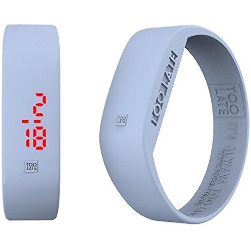 Armbanduhr Digital Unisex Too Late Groesse L Trendy Cod 8052145223594