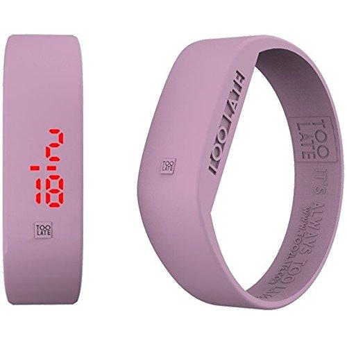 Armbanduhr Digital Unisex Too Late Groesse L Trendy Cod 8052145223617