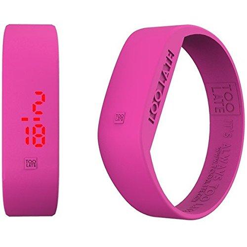 Armbanduhr Digital Unisex Too Late Groesse L Trendy Cod 8052145223655