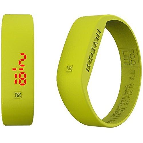 Armbanduhr Digital Unisex Too Late Groesse L Trendy Cod 8052145223662