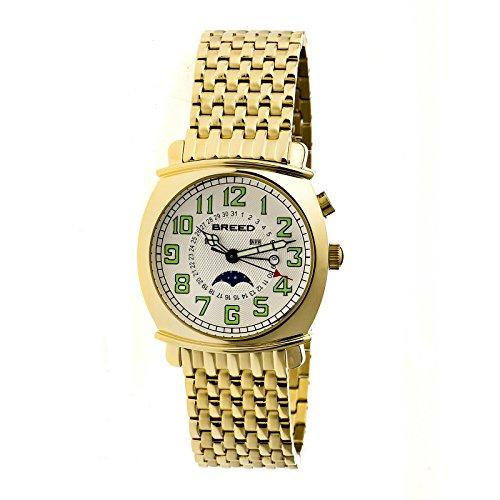 Breed Armbanduhr Analog Edelstahl BRD6503 gold