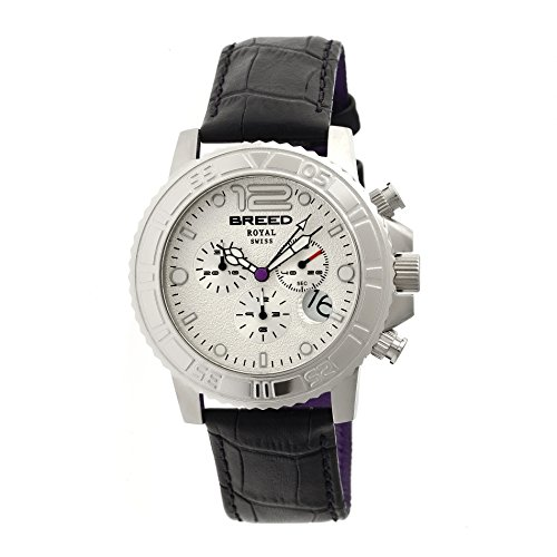 Breed Armbanduhr Analog Schweizer Quarz BRD6701 black