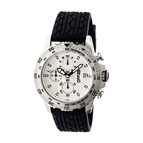 Breed Armbanduhr Analog Silikon BRD6301 black