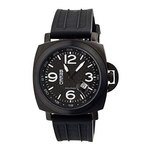 Breed Armbanduhr Analog Schweizer Quarz Edelstahl BRD5604