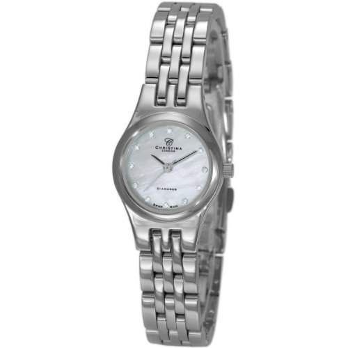 Christina Design London Damen-Armbanduhr Analog Edelstahl 114SW