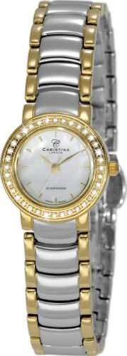 Christina Design London Damen-Armbanduhr Analog Edelstahl 115-2BW