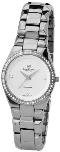 Christina Design London Damen-Armbanduhr Analog Edelstahl 132-2SW