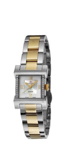 Christina Design London Damen Armbanduhr Wave Analog Zweifarbig 142BW