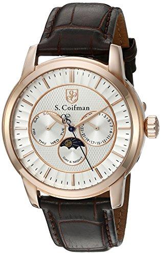 S Coifman Herren Armbanduhr Analog Quarz SC02 14