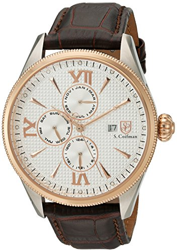 S Coifman Herren Armbanduhr Analog Quarz SC0170
