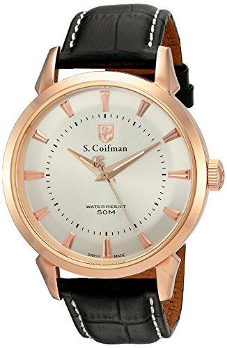 S Coifman Herren Armbanduhr Analog Quarz SC0287