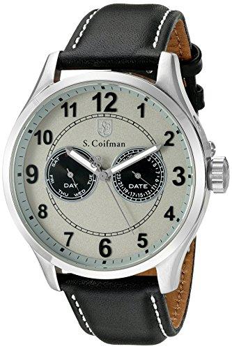 S Coifman Herren Armbanduhr Analog Quarz SC0315