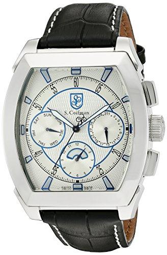 S Coifman Herren Armbanduhr Chronograph Quarz SC0087