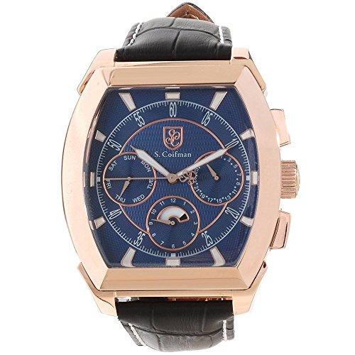 S Coifman Herren Armbanduhr Chronograph Quarz SC0091
