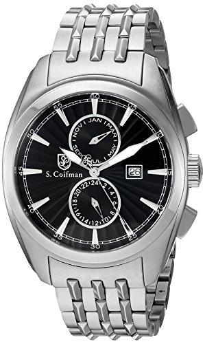 S Coifman Herren Armbanduhr Chronograph Quarz SC0137