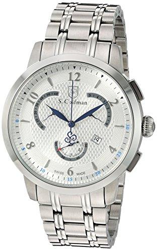 S Coifman Herren Armbanduhr Chronograph Quarz SC0235