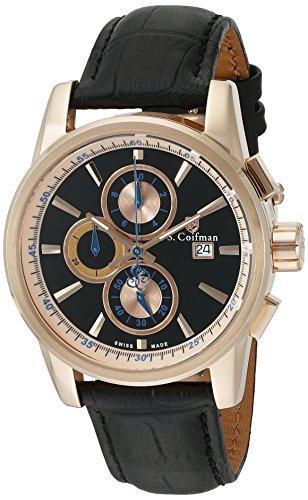 S Coifman Herren Armbanduhr Chronograph Quarz SC0257