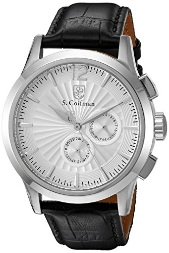 S Coifman Herren Armbanduhr Chronograph Quarz SC0260
