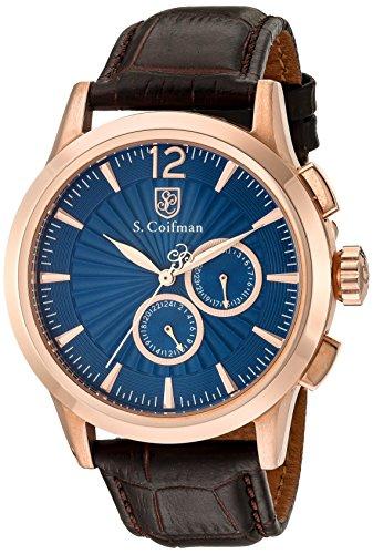 S Coifman Herren Armbanduhr Chronograph Quarz SC0266
