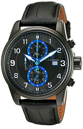 S Coifman Herren Armbanduhr Chronograph Quarz SC0313