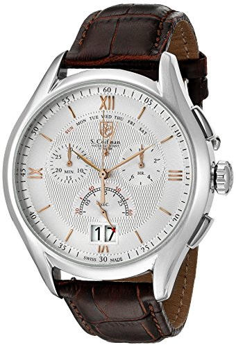 S Coifman Herren Armbanduhr Chronograph Quarz SC0321