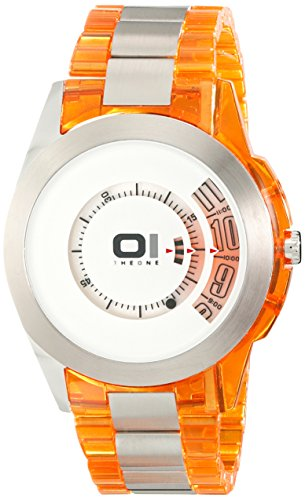 THE ONE Binary Watch Turning Disc Analog Quarz AN08G07