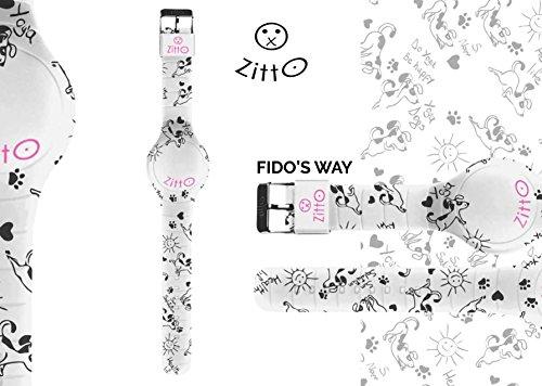 Uhr Zitto Grosse LED mit Silikonband Limited Edition fidoswayg