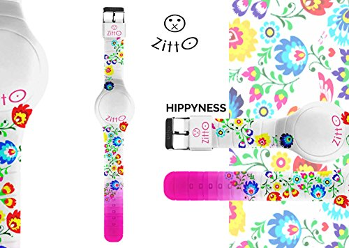 Uhr Zitto Grosse LED mit Silikonband Limited Edition hippynessg