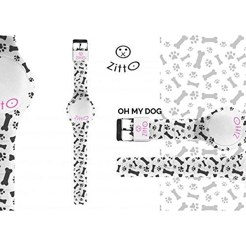 Uhr Zitto Grosse LED mit Silikonband Limited Edition ohmydog G