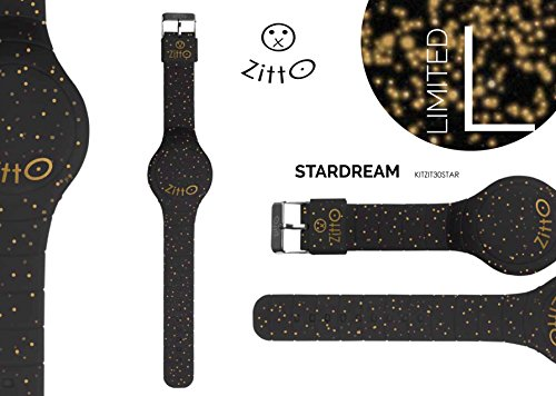 Uhr Zitto Grosse LED mit Silikonband Limited Edition stardreamg