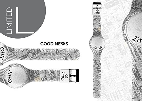 Uhr Zitto klein LED mit Silikonband Limited Edition goodnewsp