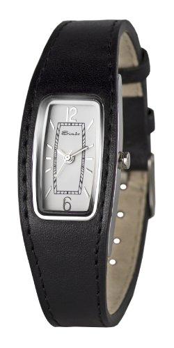 Sinar Armbanduhr analog mit Epousee Band 3bar schwarz weiss