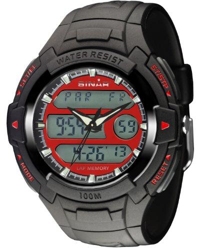 SINAR XAD 15 4 Uhr Kautschuk Kunststoff 100m Digital Licht schwarz
