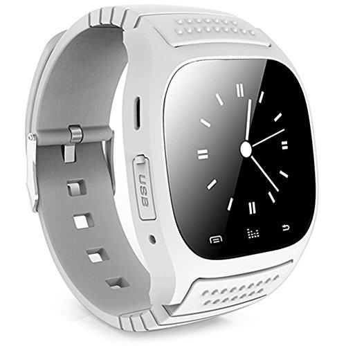 Leopard Shop RWATCH m26s Armbanduhr Smart Sport Bluetooth Sleep Management Schrittzaehler Dialing SMS weiss