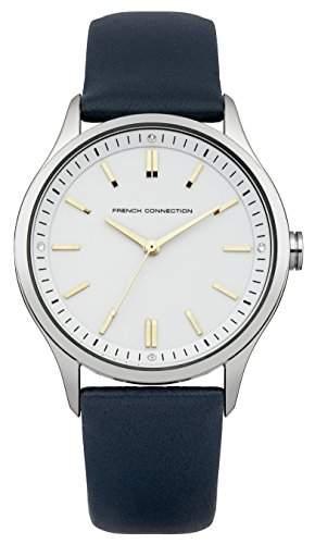 French Connection Damen-Armbanduhr Mollard Analog Quarz Leder FC1245U