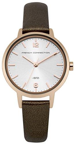French Connection Damen Armbanduhr Analog Quarz FC1280TRG