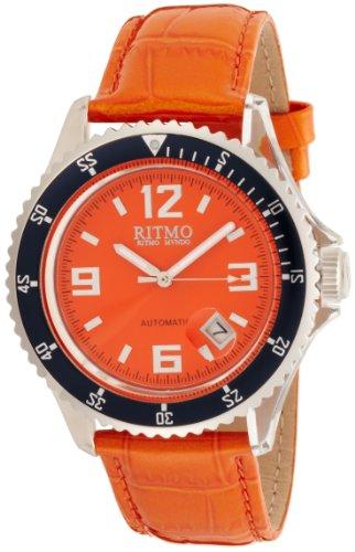 Ritmo Mundo Damen 312 orange Hercules Automatic Watch