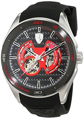 Scuderia Ferrari Orologi Herren Armbanduhr GRAN PREMIO Analog Automatik Silikon 0830348