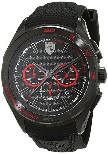 Scuderia Ferrari Orologi Herren Armbanduhr GRAN PREMIO Analog Quarz Silikon 0830344