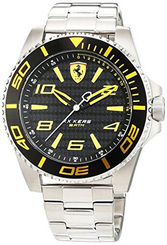 Scuderia Ferrari Orologi Herren Armbanduhr XX Kers Analog Quarz Edelstahl 0830330