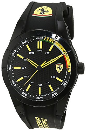 Scuderia Ferrari Orologi Red Rev Analog Quarz Silikon 0830302